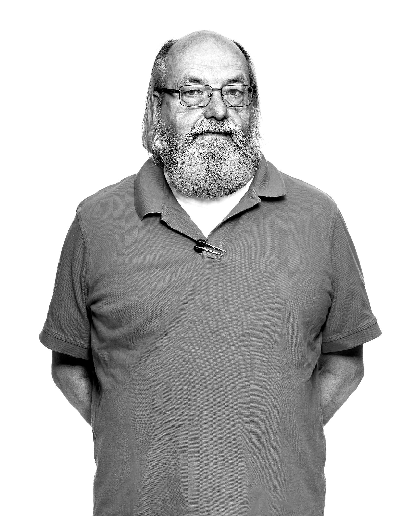 Ken Thompson by Peter Adams.