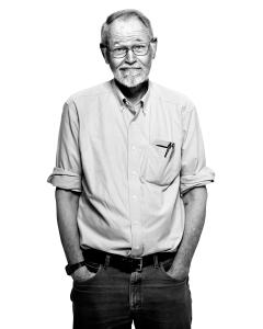 Brian Kernighan by Peter Adams.