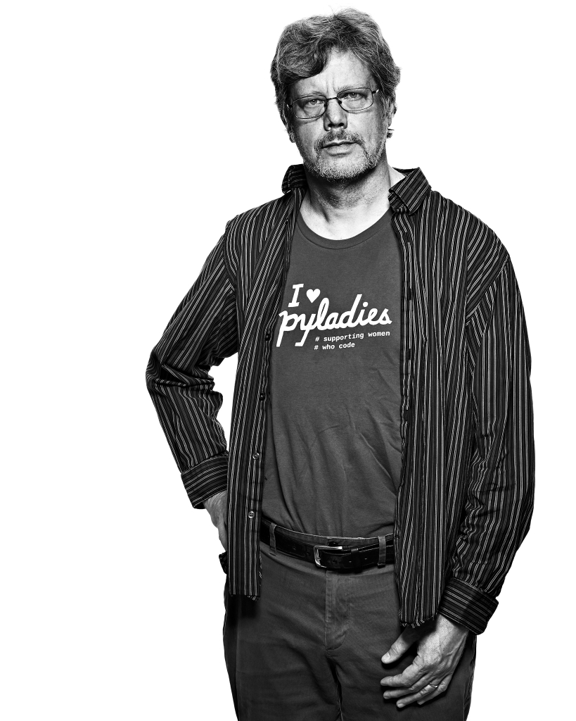 Guido van Rossum by Peter Adams.