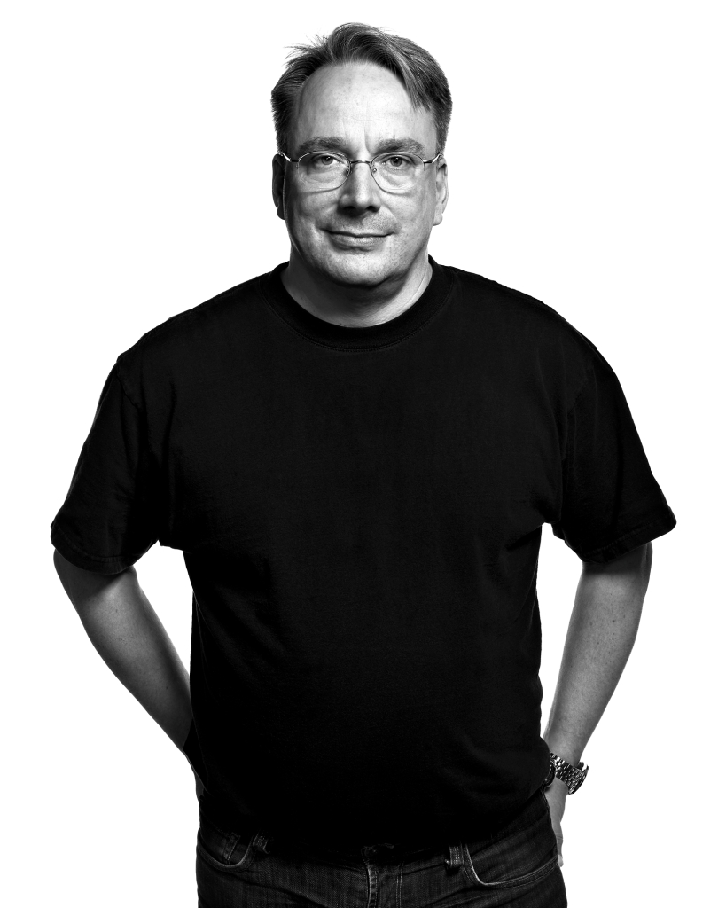 Linus Torvalds by Peter Adams.